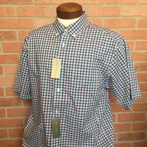 Daniel Cremieux button front shirt L (4H40-41)